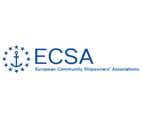 ECSA European Community Shipowners Association 290x242