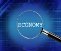 Economy_magnifying_glass_Blue_background_with_grid