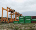 Kuantan_Port_Container_Yard_with_Rubber_Tyred_Gantry_RTG_crane_transtainer