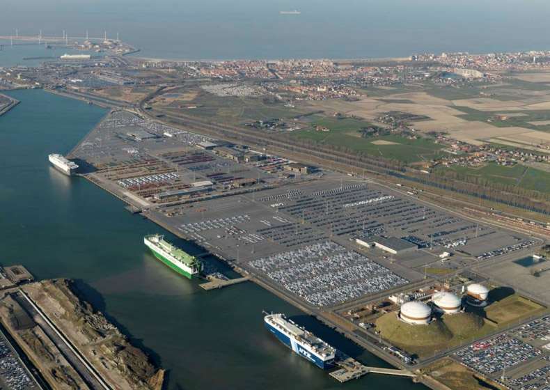 Large extra capacity plan for automotive sector launched for Port zeebrugge