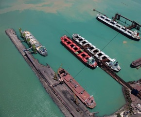 dry_bulk_vessels_at_bulk_terminal_and_oil_tanker 290x242