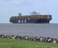 MSC_ZOE_on_Elbe_river