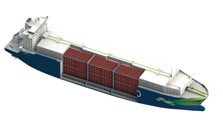 CNG-carrier