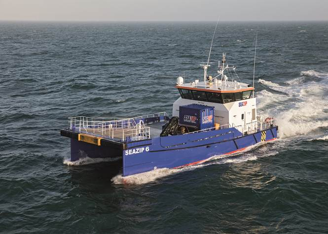 SeaZip continues fleet expansion as two Damen Fast Crew