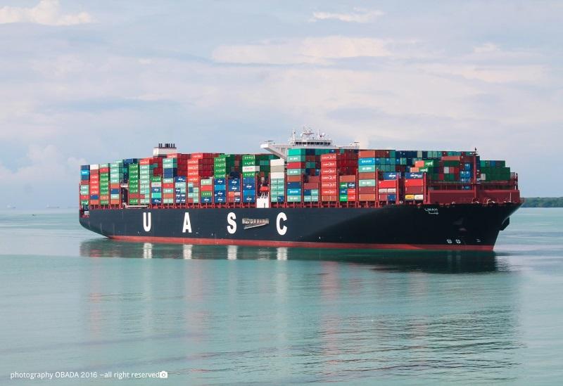 UASC containership BIG