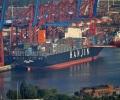 Hanjin_Blue_Ocean_containership_Hamburg_Waltershof