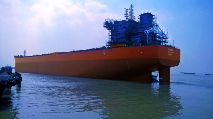Torvald Klaveness mv Bavang bulk carrier BIG