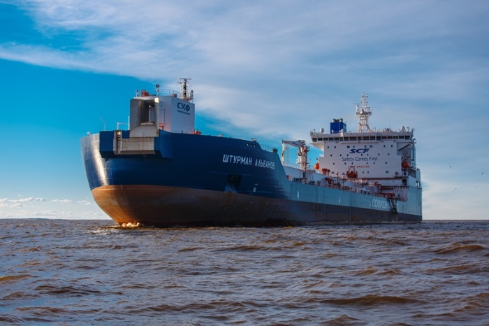 Sovcomflot tankers transport one million tonnes of oil from Novy
