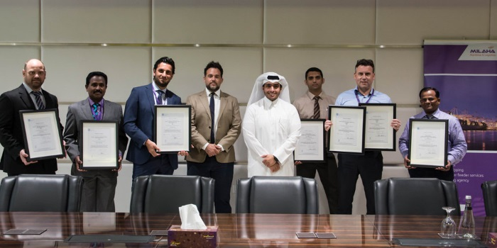 Milaha Business Units Receive Iso & Ohsas Certification For Qhse