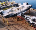 World's largest container vessels under construction in
