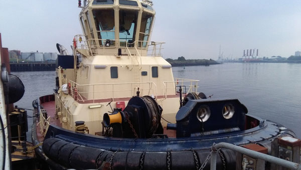 "Optipower On Board Svitzer Tug ""Ormsby Cross"", Bunker"