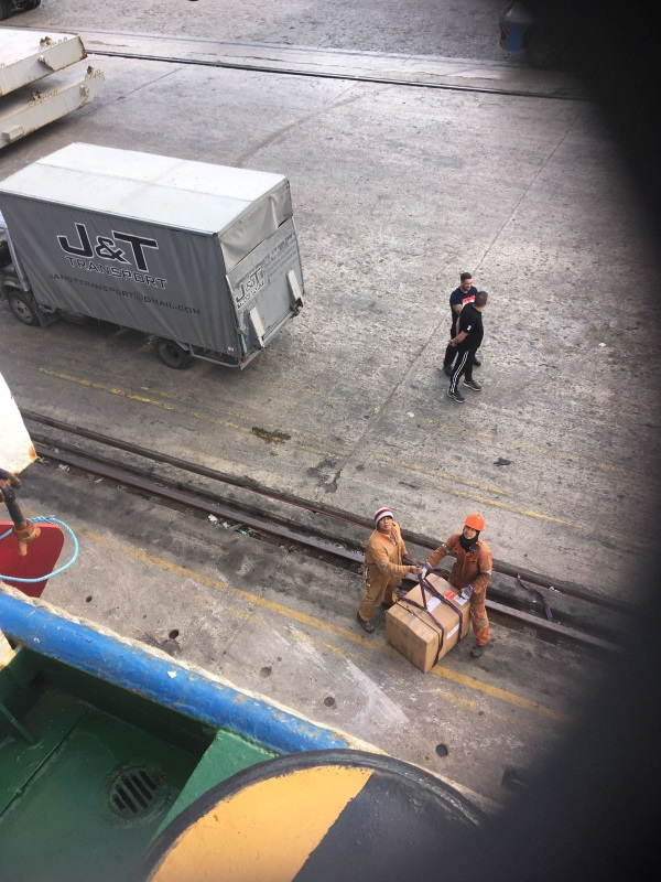 Maltese freight forwarder WEL delivers Ship Spares on board