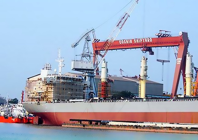Cochin Shipyard Limited announces Q1FY19 results