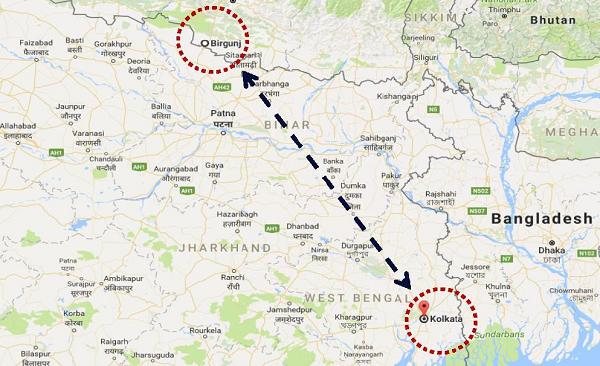 Nepal bound Imports via Kolkata Port – Empty Equipment Return DROP