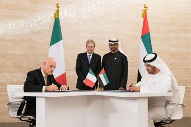 Adnoc, Italy's Eni Sign Historic Offshore Concession Agreements