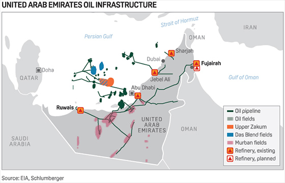 Abu Dhabi to open up new unexplored oil, gas blocks for