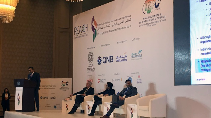 Milaha Takes Part in Qatar-India Business and Investment