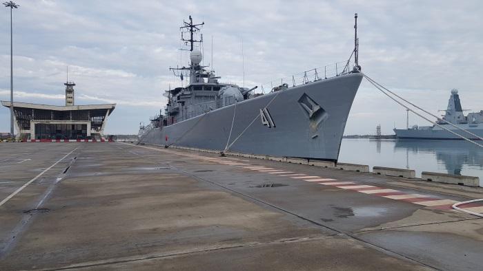 NATO navy ships refuel in Poti: Physical bunker supplier in