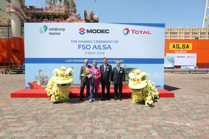Sembcorp Marine completes world's first 40-year FSO vessel