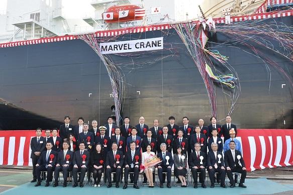 New LNG Carrier Named Marvel Crane | Hellenic Shipping News