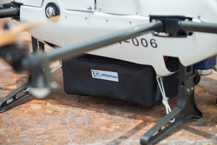 Wilhelmsen and Airbus trial world's first commercial drone