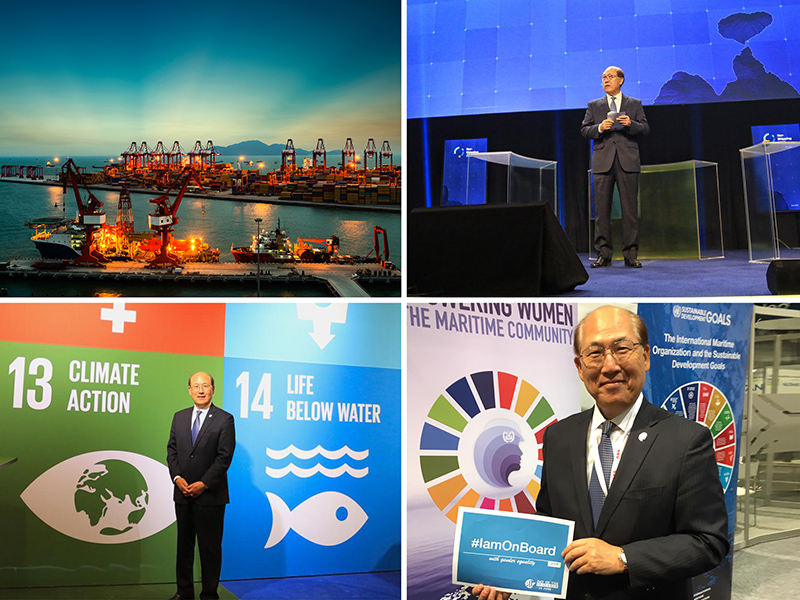 "Sustainable and balanced"" – IMO Secretary-General outlines"