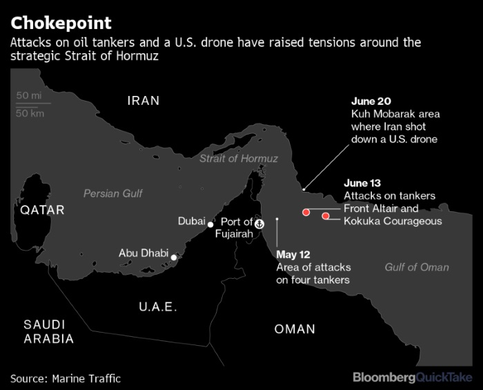 Oil Tankers Dodge Top Mideast Refueling Hub After Ship